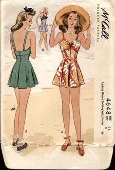 mccall swimsuit 4648