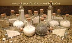 sand collections | Take The Beach With You When You Go - Collecting Beach Sand