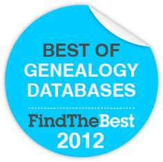 Best of Genealogy databases 2012