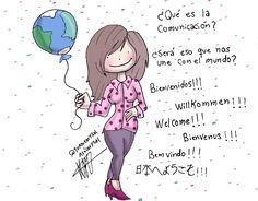 Alsalcia Plaz da la bienvenida al mundo de la comunicación.