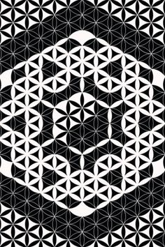 Buy unique print-on-demand products from independent artists worldwide or sell your own designs at the drop of an image! Geometric Tattoo Stencil, Tattoo Stencils, Flower Of Life Tattoo, Rangoli Designs, Cubism, Life Tattoos, Yin Yang, Sacred Geometry, Tatting
