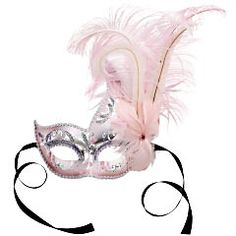 Pier 1's Italian Feather Masks are so pretty... I wish I had reasons to buy more!