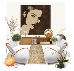"""Zen"" by gabidesi ❤ liked on Polyvore featuring interior, interiors, interior design, home, home decor, interior decorating, Cole & Son, Ballard Designs, Jonathan Adler and Bitossi"