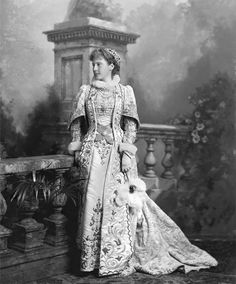 Dowager Duchess of Hamilton, née Lady Mary Forster (1854-1945)  Biog: Eldest daughter of 7th Duke of Manchester, m 1873 William Alexander Louis Stepehn, 12th Duke of Hamilton (1845-1895) [mother Countess von Alten who married 8th Duke of Devonshire]  Role: Mary of Hamilton, Lady-in-Waiting to Mary Queen of Scots