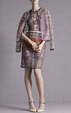 Mary Katrantzou Resort 2015 Trunkshow Look 3 on Moda Operandi