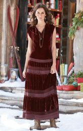 WINE COUNTRY MAXI DRESS - love the bottom part - would be nice as a skirt only