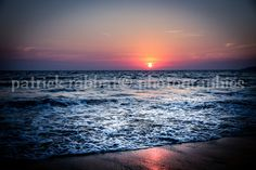 Sunset Beach Photo Fine Art Photography by PatrickRabbatPhotos