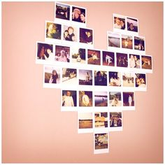 ways to arrange pictures on wall - Google Search Indie Scene Style, Heart Collage Of Pictures, Wall Of Pictures Ideas, Heart Pictures, Picture Ideas, Heart Pics, Hanging Pictures, Wall Ideas, Photo Ideas
