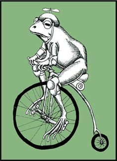 If a fish can ride a bicycle, why can't a frog?