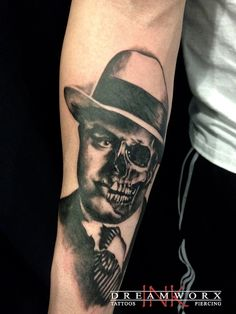 Capone  Artist: Lu Dreamworx Ink 3883 Rutherford Road Vaughan, Ontario. Canada 905 605 2663 www.dreamworxink.com