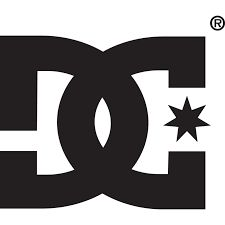 DC's logo is represented by two inverted images that form the letters DC when put together.