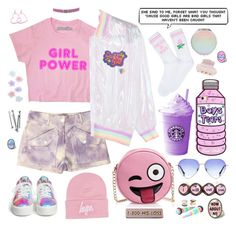 """The ""Good"" Grrrl"" by alexis-marie-burroughs ❤ liked on Polyvore featuring Michael Kors, 2028, Olivia Miller, BOBBY, Yeah Bunny, Hype, Boohoo, Monsoon, Tasha and Hot Topic"