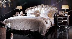 Italian Furniture - Luxurious Rhea Italian Bedroom Furniture