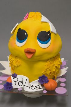 Hatching Chick Cake by studiocake, via Flickr | Easter