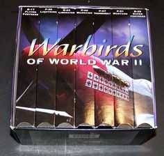 War Birds of World War II VHS Set of 7 B-24 P51 American Planes And Bombers