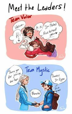 I think as Mabel for Instinct because she would be so kind hearted to all the pokemon she got.