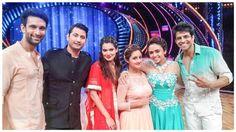 Pic Alert: Nandish, Rashami, Himanshoo, Amruta, Payal with Marzi Pestonji on 'Nach Baliye 7' set | PINKVILLA
