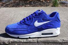 Nike Air Max 90 Premium / Hyper Blue Suede