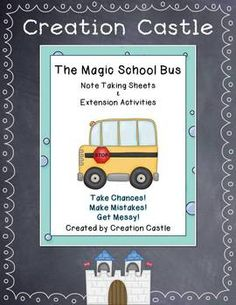 The Magic School Bus is a popular series among students and teachers. Each new adventure is full of fun and information. If your students love The Friz, this resource is for you! Use these note taking pages and activities to enhance your experience with The Magic School Bus videos!