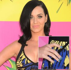 La manucure de Katy Perry au mois de mars