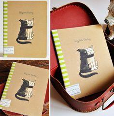 Cuaderno de escritura My little Darling en Ottoyanna. #cuaderno #libreta #carnets #cahiers #papeleria #notebook