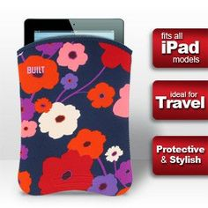 Built NY iPad Sleeve - Lush Flower (Fits all iPad mini, iPad, iPad Air )