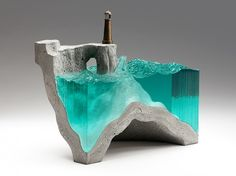 Glass and Concrete Sculptures by Artist Ben Young | American Luxury