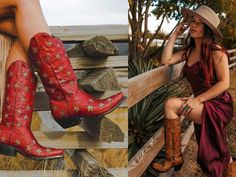 Cowgirl And Horse, Cowgirl Style, Cowgirl Boots, Fashion Boots, Cowgirl Fashion, Cowgirl Wedding, Star Boots, Shades Of Teal, Global Brands