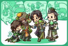 Tags: Fanart, Dynasty Warriors, Pixiv, Zhuge Liang