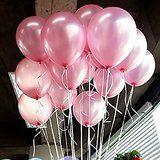 Seguryy Sachet De 100 Ballons Nacrés Perle Latex ¬¬-10pouces Ballons Décoration pour Anniversaire Mariage Soirée Partie