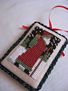 snippets and stash - Prairie Schooler Santa