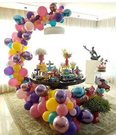#Balloons #PartyDecor #WeddingDecor #BalloonArrangements