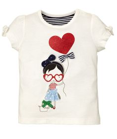 Mothercare Camiseta M/C Niña Corazón - Promocion camisetas 2 x 1 - Mothercare
