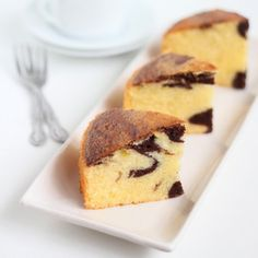 Old-fashioned Marble Cake.