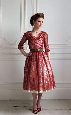 Halfpenny London - Beautiful Wedding Dresses by Kate Halfpenny...
