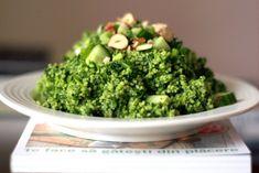 Cuscus de primavara Tasty, Yummy Food, Polenta, Quinoa, Broccoli, Food And Drink, Vegetarian, Favorite Recipes, Lunch