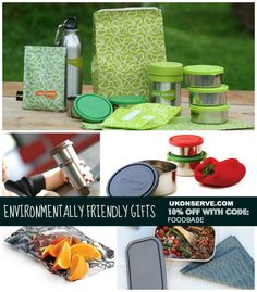 Environmentally Friendly Gifts by U-Konserve (Exclusive Discount) on http://foodbabe.com