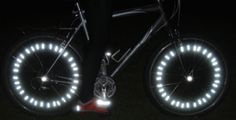 Lightweights for wheels - reflectors *These are going to be great for those warm summer evening rides