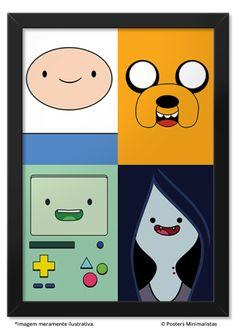 Finn, Jake, Beemo & Marceline