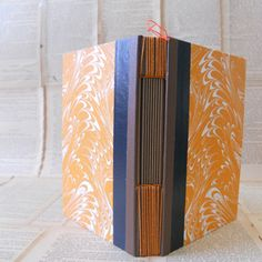 Pitch + Drift Handmade Book | Creamsicle