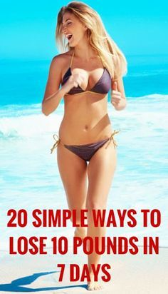 Get Fit Girls: 20 Simple Ways to Lose 10 Pounds In a Week