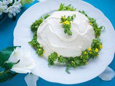 「にがくてあまい」(小林ユミヲ)の菜花のケーキ
