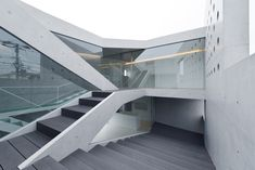 """House in Tsudanuma by fuse-atelier """"Location: Narashino, Chiba Prefecture, Japan"""" 2014"""