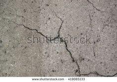 Asphalt texture with cracks
