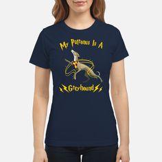 My Patronus is a greyhound ladies shirt Movie Shirts e33d947c0