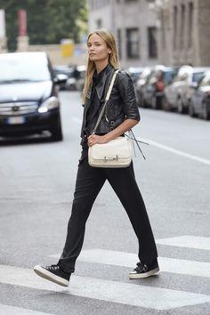 Street style celebrites sacs stars mode Natasha Poly