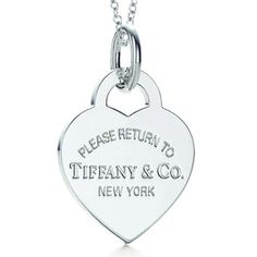 Return to Tiffany necklace. Mine will be personally engraved with my initials. Just one week! Return To Tiffany Necklace, Radical Expressions, Jewelry Tattoo, Tiffany Jewelry, Bridesmaid Gifts, Bridesmaids, Fancy Pants, Luxury Branding, Dog Tag Necklace