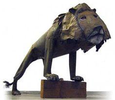 """SELF-MADE-ART"""" AND IT IS MADE BY Alpo Koivumäki Outsider Art, Make Art, Finland, Lion Sculpture, Statue, Sculptures, Sculpture"""