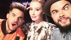 The X Factor's Adam Lambert says Iggy Azalea 'doesn't know anything about singing'.