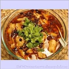 This traditional Sichuan dish is a favorite for the Lunar Chinese New Year and is traditionally meant to bring good fortune for the coming year.